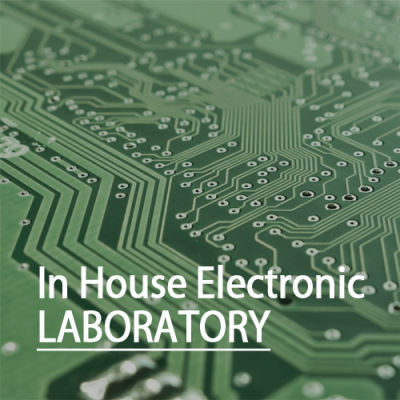 In house electronic laboratory