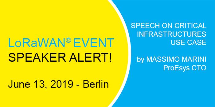 Berlin 2019 LoRa Alliance meeting SPEECH